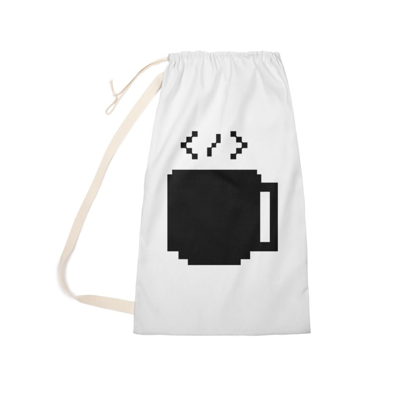 Code and Coffee Accessories Bag by Var x Apparel