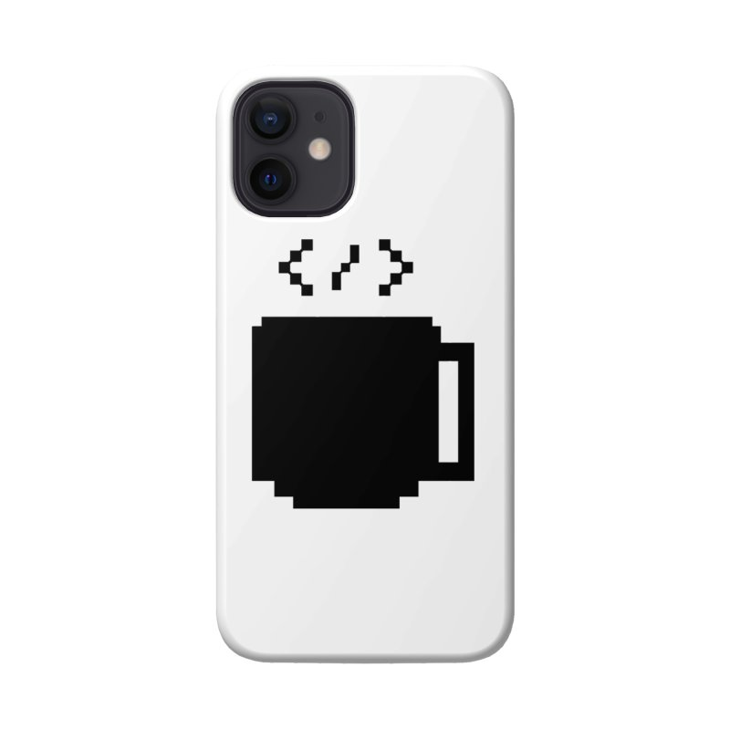 Code and Coffee Accessories Phone Case by Var x Apparel