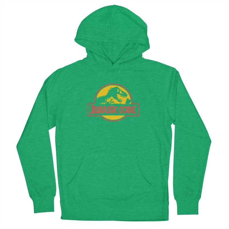 Jurassic Code Men's French Terry Pullover Hoody by Var x Apparel