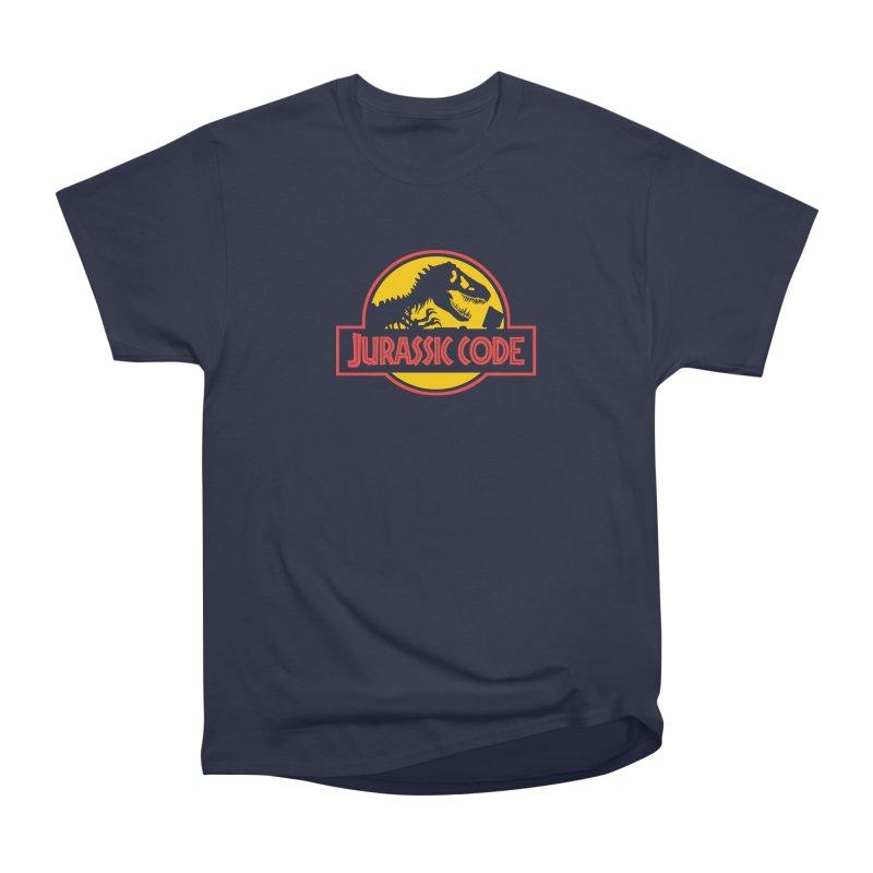 Jurassic Code Women's Heavyweight Unisex T-Shirt by Var x Apparel