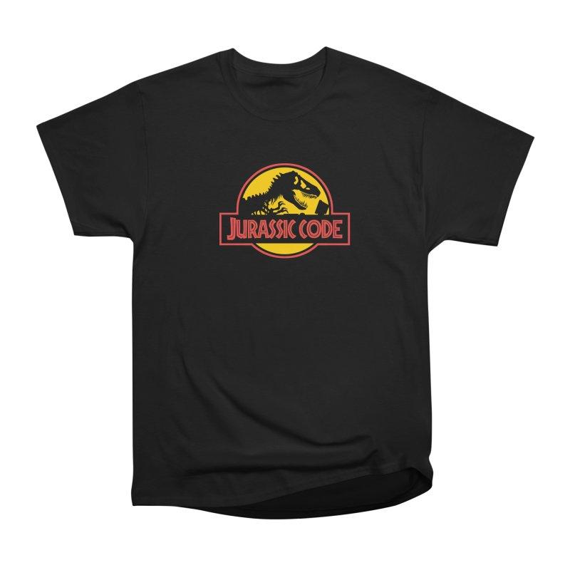 Jurassic Code Men's Heavyweight T-Shirt by Var x Apparel