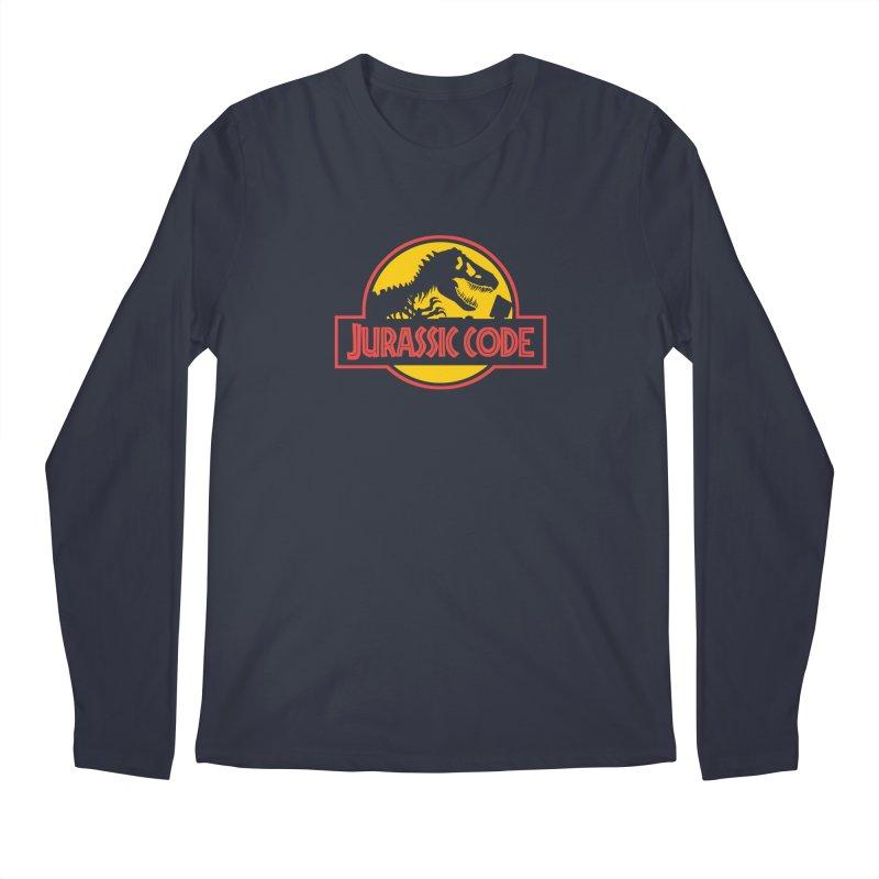Jurassic Code Men's Regular Longsleeve T-Shirt by Var x Apparel