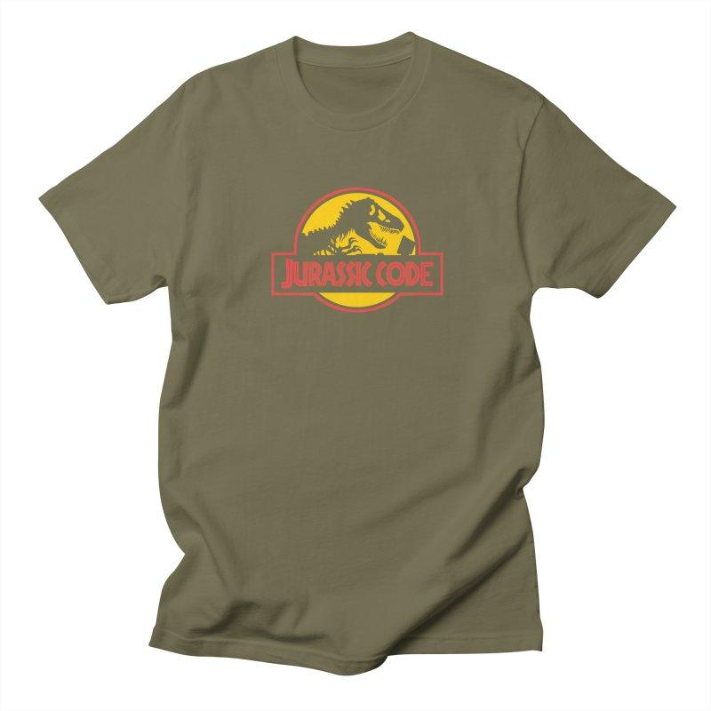 Jurassic Code Women's Regular Unisex T-Shirt by Var x Apparel