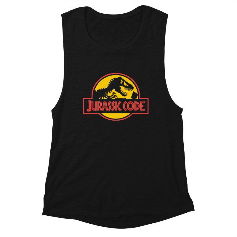 Jurassic Code Women's Muscle Tank by Var x Apparel