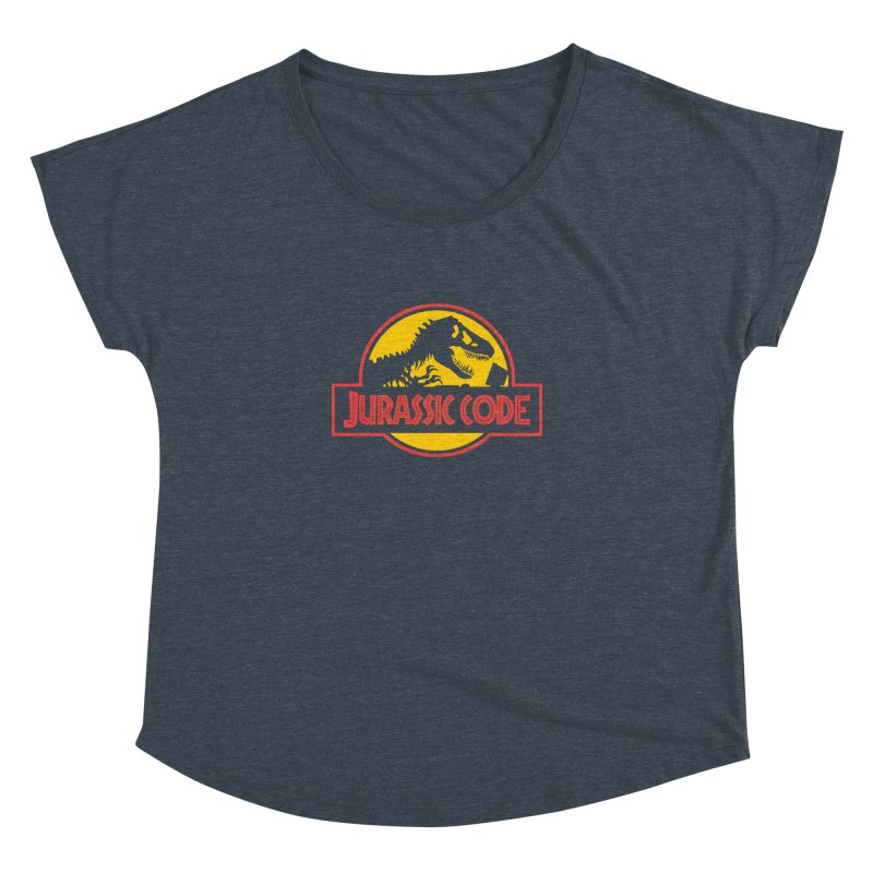 Jurassic Code Women's Dolman Scoop Neck by Var x Apparel