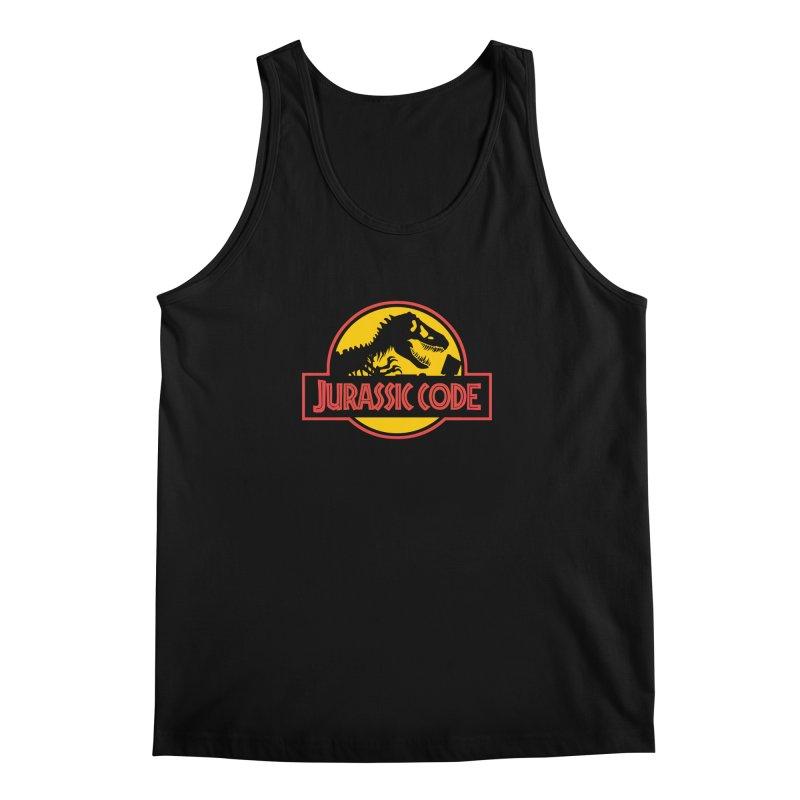 Jurassic Code Men's Regular Tank by Var x Apparel