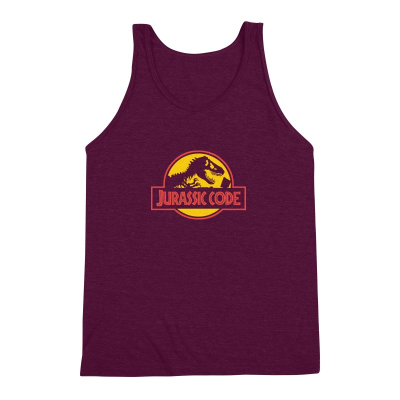Jurassic Code Men's Triblend Tank by Var x Apparel
