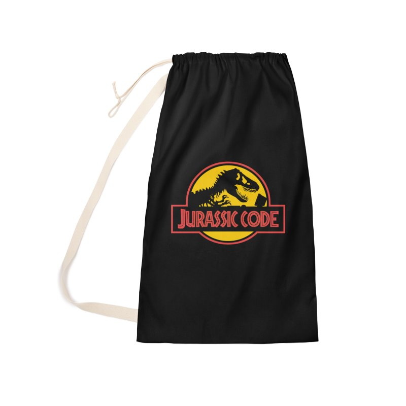 Jurassic Code Accessories Laundry Bag Bag by Var x Apparel