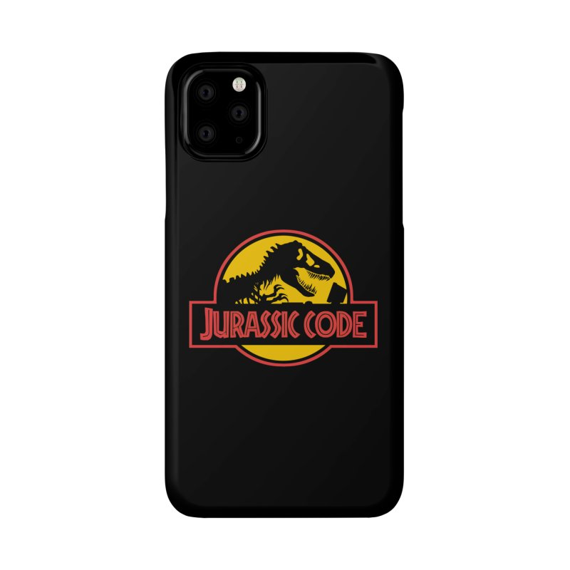 Jurassic Code Accessories Phone Case by Var x Apparel