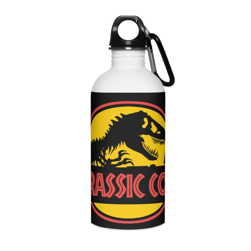 Jurassic Code Accessories Water Bottle by Var x Apparel