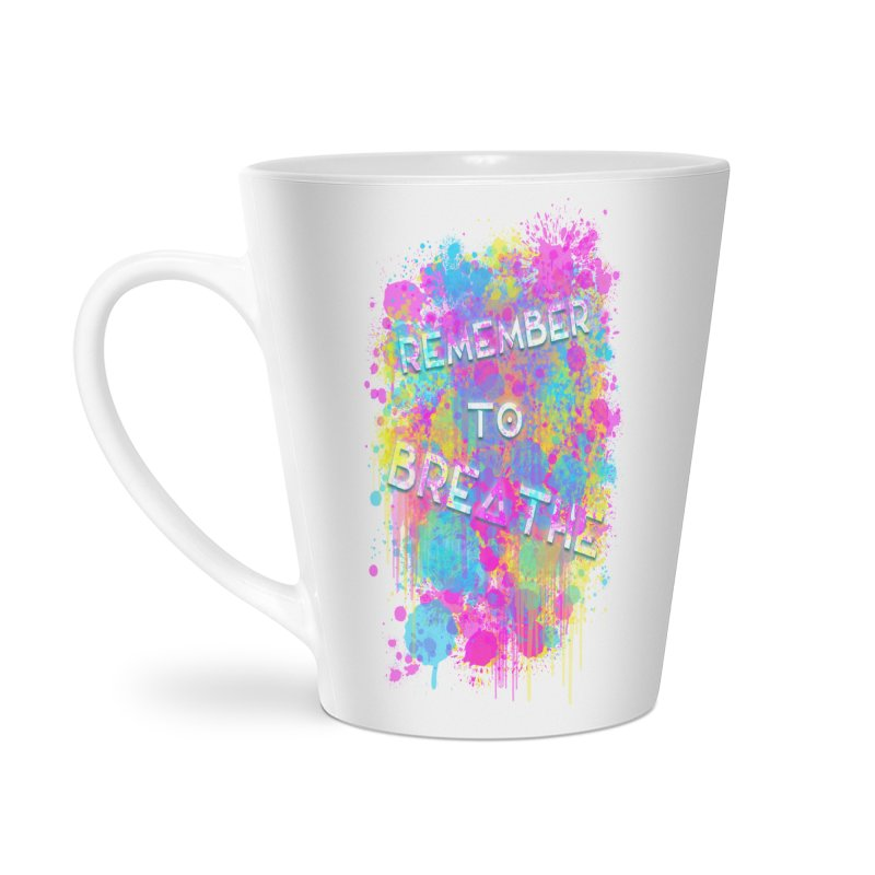 REMEMBER TO BREATHE (SPLATTER) Accessories Mug by VATTICA | OFFICIAL MERCH