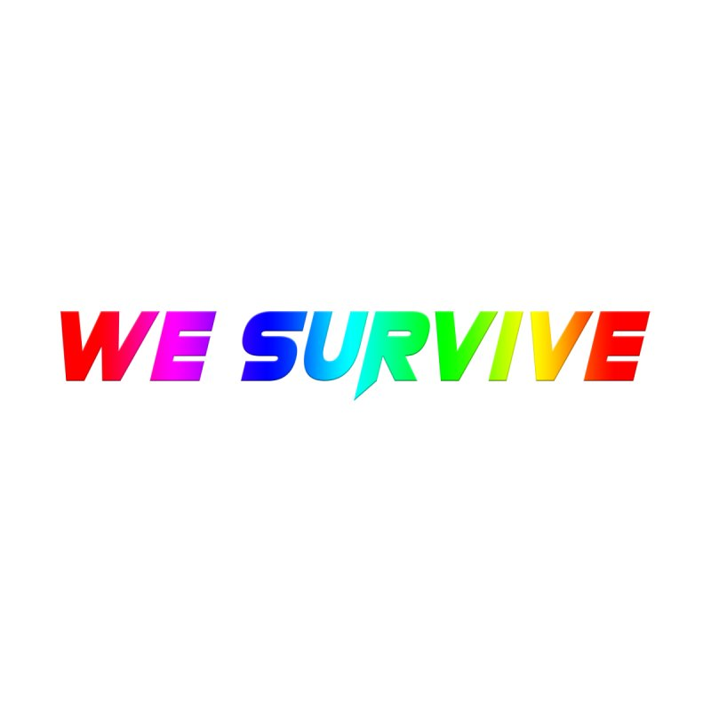 WE SURVIVE (LGBTQI PRIDE) Accessories Water Bottle by VATTICA | OFFICIAL MERCH