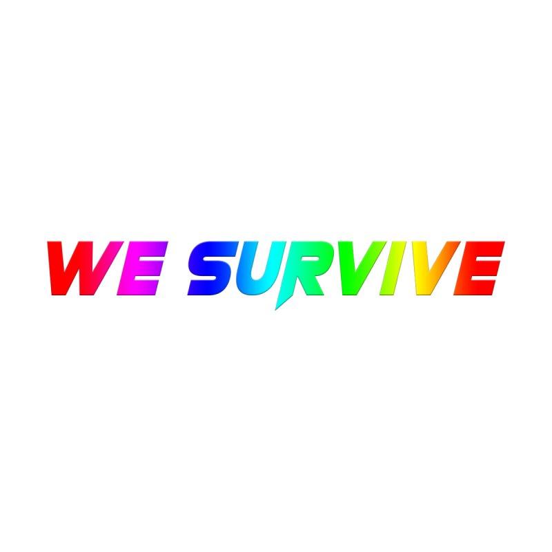 WE SURVIVE (LGBTQI PRIDE) Women's Scoop Neck by VATTICA | OFFICIAL MERCH