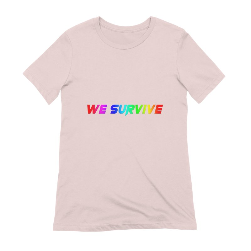 WE SURVIVE (LGBTQI PRIDE) Women's Extra Soft T-Shirt by VATTICA | OFFICIAL MERCH