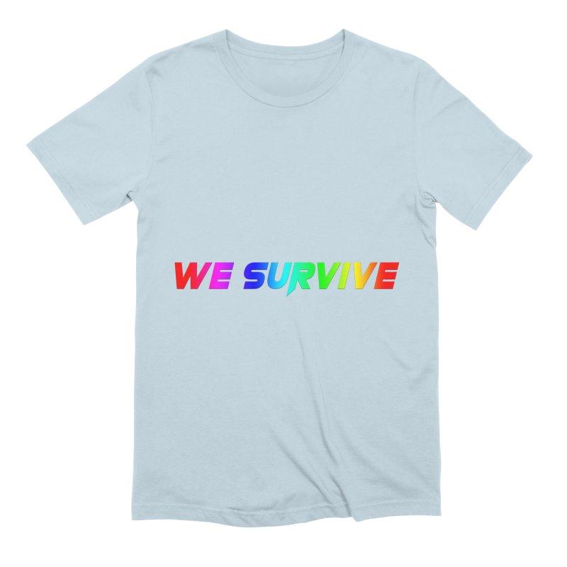 WE SURVIVE (LGBTQI PRIDE) Men's T-Shirt by VATTICA   OFFICIAL MERCH