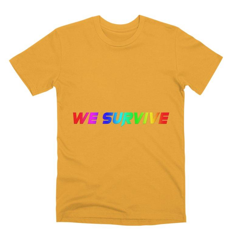 WE SURVIVE (LGBTQI PRIDE) Men's T-Shirt by VATTICA | OFFICIAL MERCH