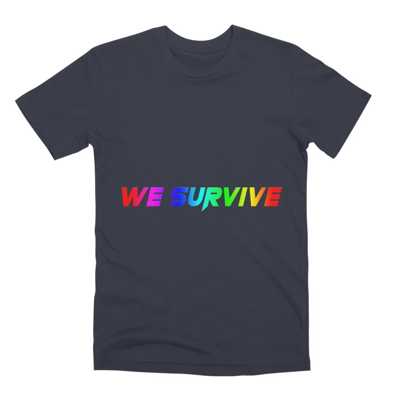 WE SURVIVE (LGBTQI PRIDE) Men's T-Shirt by VATTICA | OFFICIAL MERCH