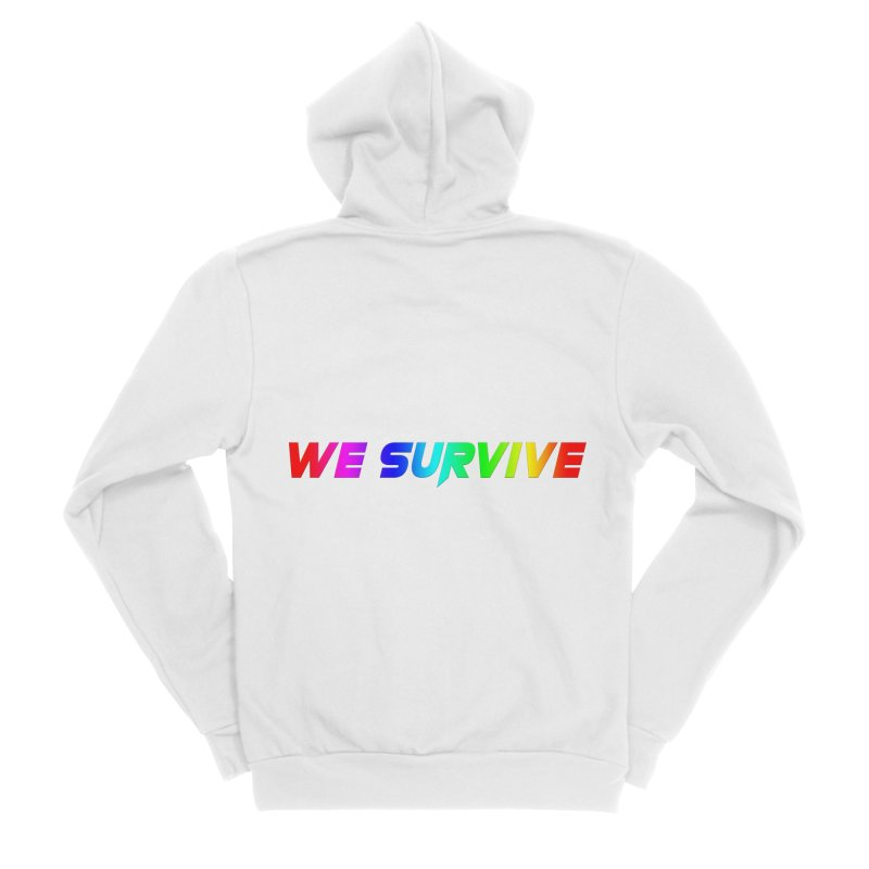 WE SURVIVE (LGBTQI PRIDE) Women's Zip-Up Hoody by VATTICA | OFFICIAL MERCH