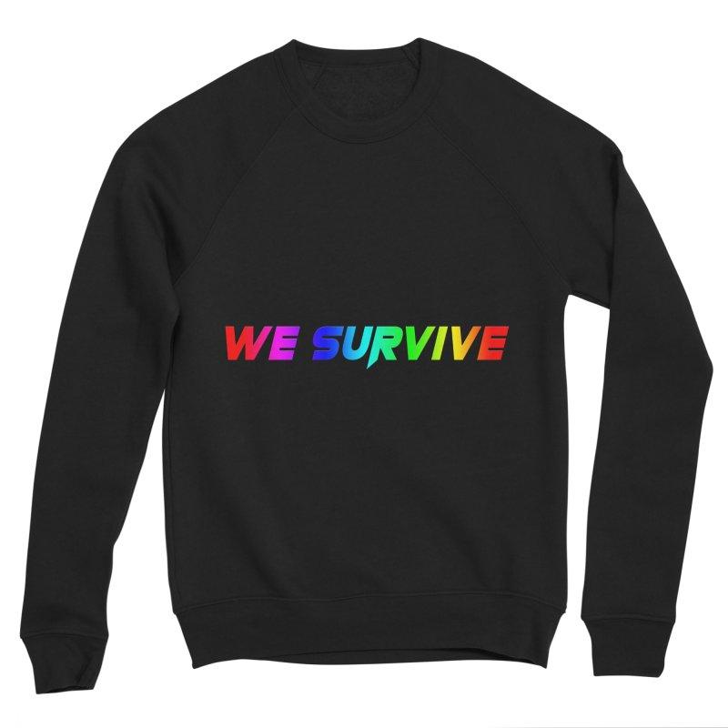 WE SURVIVE (LGBTQI PRIDE) Women's Sponge Fleece Sweatshirt by VATTICA | OFFICIAL MERCH