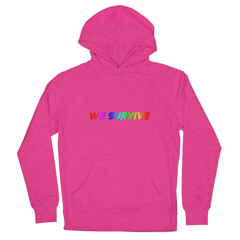 WE SURVIVE (LGBTQI PRIDE) Women's French Terry Pullover Hoody by VATTICA   OFFICIAL MERCH