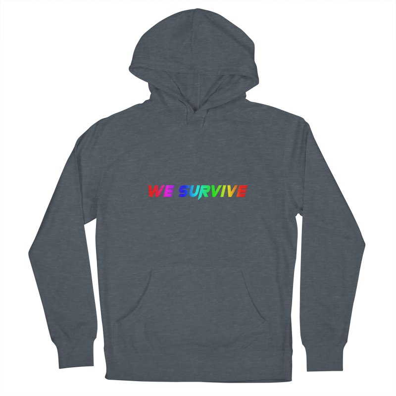 WE SURVIVE (LGBTQI PRIDE) Women's French Terry Pullover Hoody by VATTICA | OFFICIAL MERCH