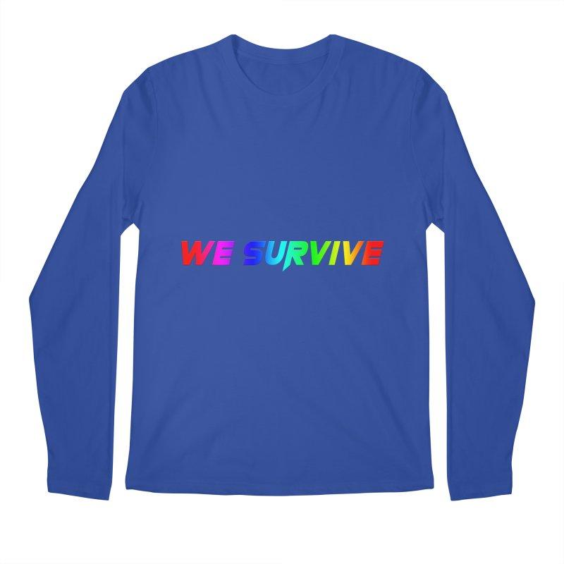 WE SURVIVE (LGBTQI PRIDE) Men's Regular Longsleeve T-Shirt by VATTICA | OFFICIAL MERCH