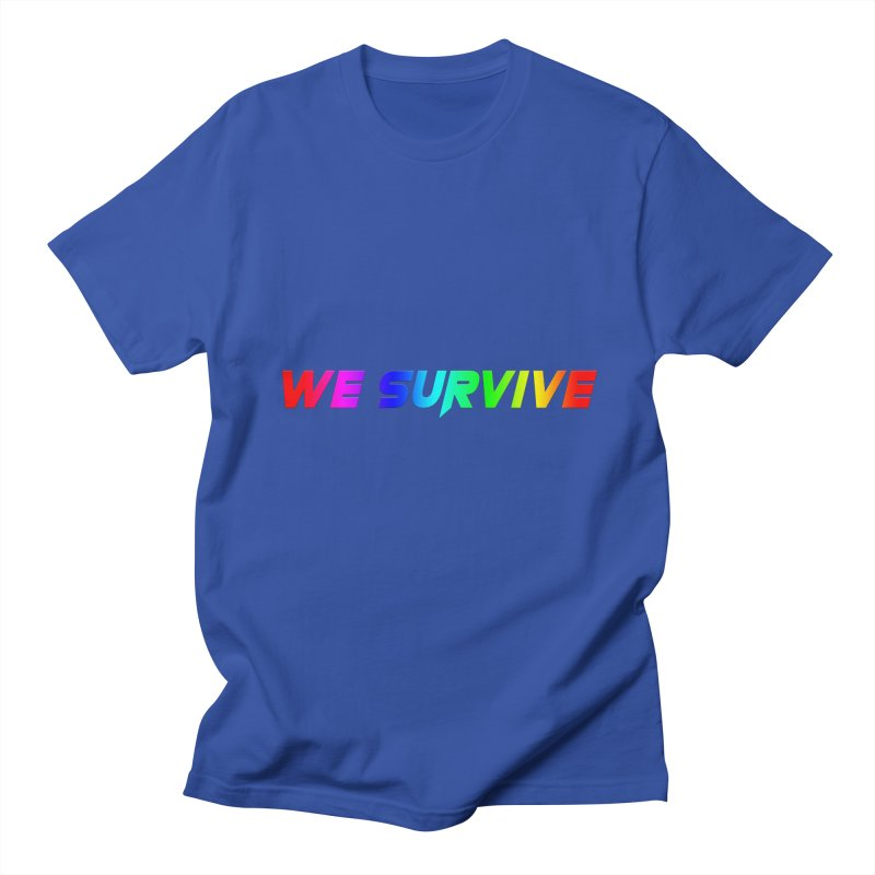 WE SURVIVE (LGBTQI PRIDE) Men's Regular T-Shirt by VATTICA | OFFICIAL MERCH