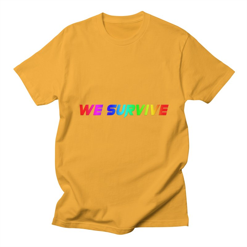 WE SURVIVE (LGBTQI PRIDE) Women's Regular Unisex T-Shirt by VATTICA | OFFICIAL MERCH