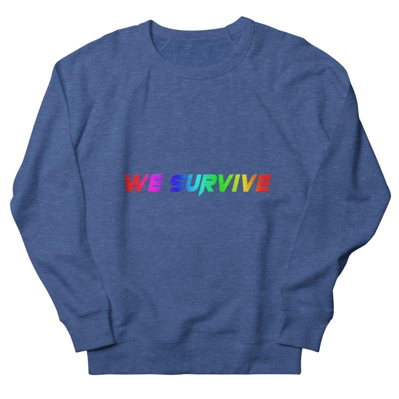 WE SURVIVE (LGBTQI PRIDE) Men's French Terry Sweatshirt by VATTICA | OFFICIAL MERCH