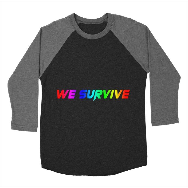WE SURVIVE (LGBTQI PRIDE) Men's Baseball Triblend Longsleeve T-Shirt by VATTICA | OFFICIAL MERCH