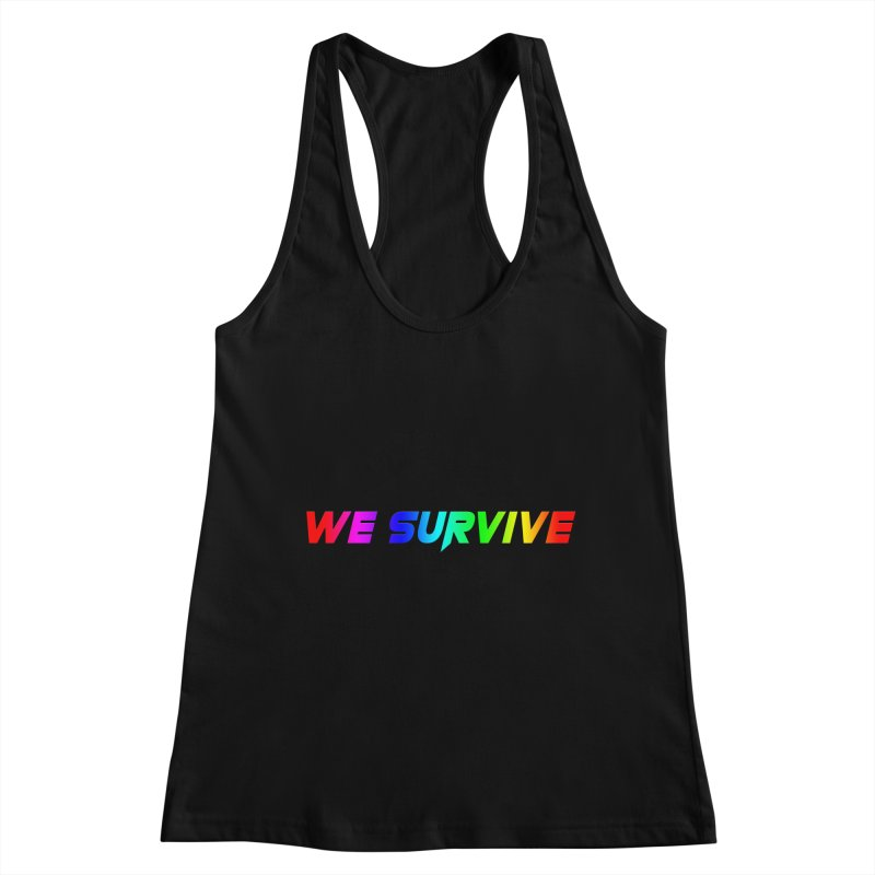 WE SURVIVE (LGBTQI PRIDE) Women's Racerback Tank by VATTICA | OFFICIAL MERCH