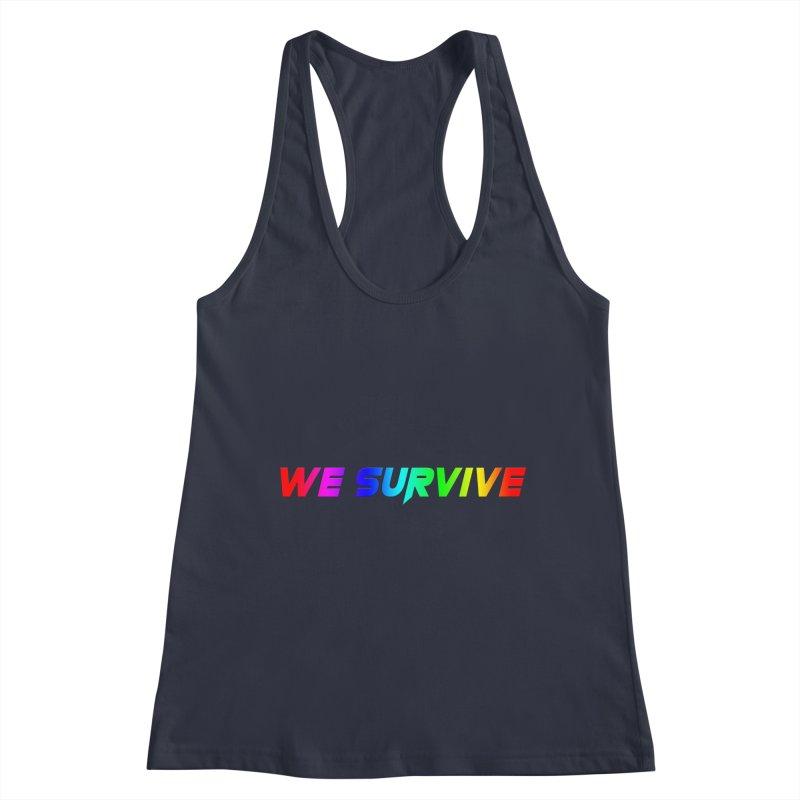 WE SURVIVE (LGBTQI PRIDE) Women's Tank by VATTICA   OFFICIAL MERCH
