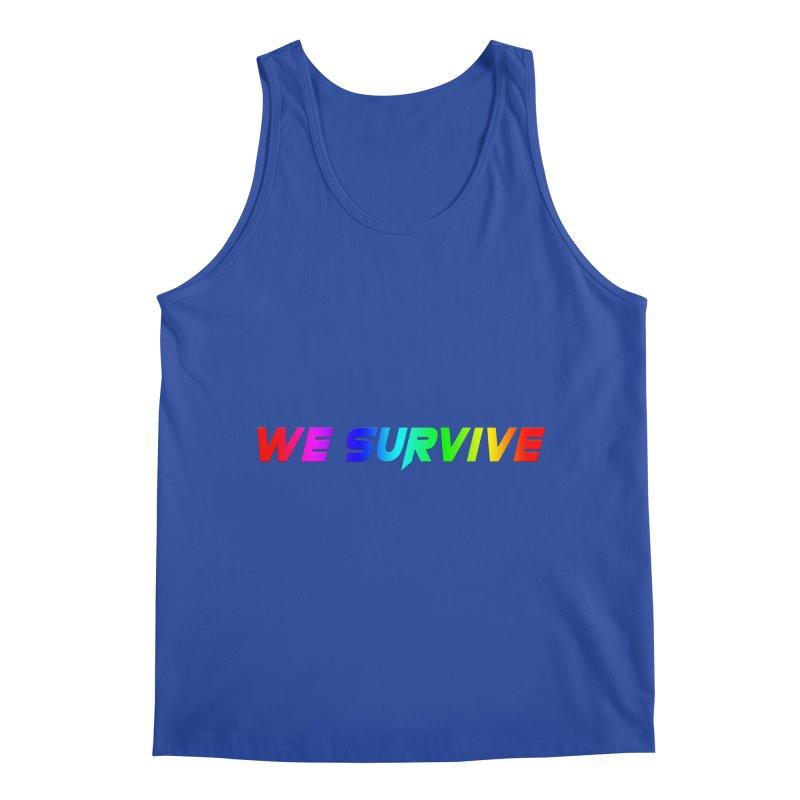 WE SURVIVE (LGBTQI PRIDE) Men's Regular Tank by VATTICA | OFFICIAL MERCH