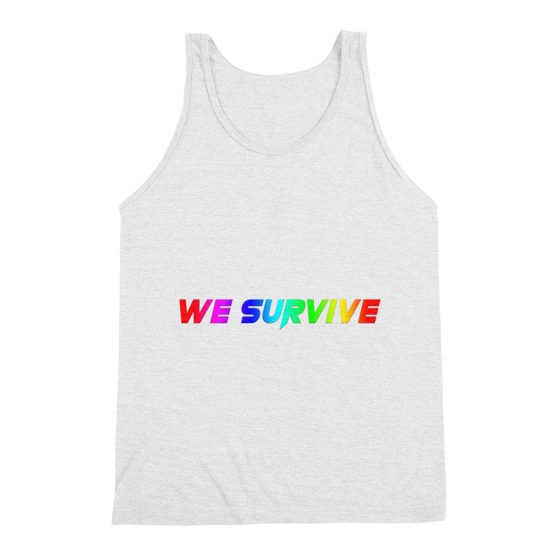 WE SURVIVE (LGBTQI PRIDE) Men's Tank by VATTICA | OFFICIAL MERCH