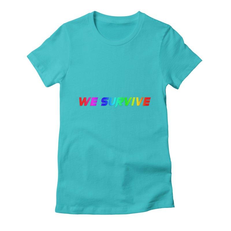 WE SURVIVE (LGBTQI PRIDE) Women's T-Shirt by VATTICA | OFFICIAL MERCH