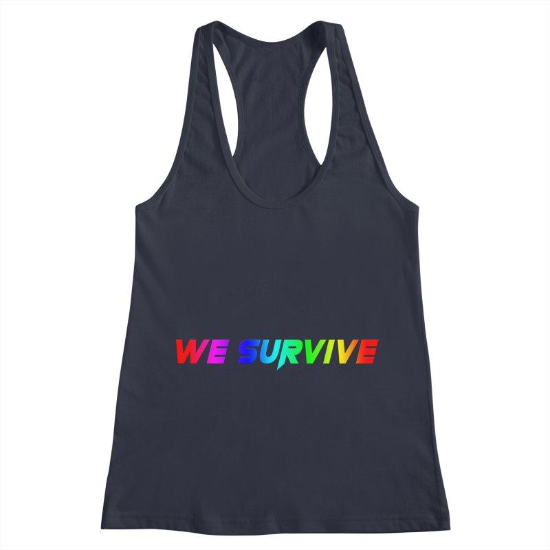 WE SURVIVE (LGBTQI PRIDE) Women's Racerback Tank by VATTICA | OFFICIAL MERCH
