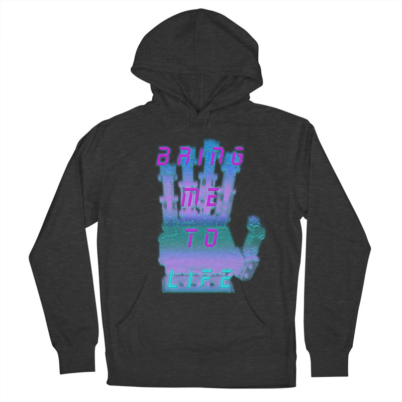 REMEMBER TO BREATHE (CYBORG) Women's French Terry Pullover Hoody by VATTICA   OFFICIAL MERCH