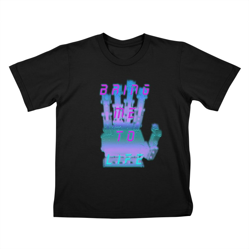 REMEMBER TO BREATHE (CYBORG) Kids T-Shirt by VATTICA | OFFICIAL MERCH