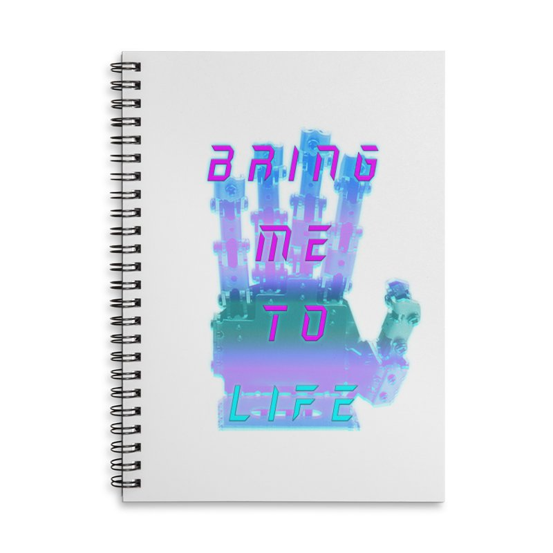 REMEMBER TO BREATHE (CYBORG) Accessories Lined Spiral Notebook by VATTICA | OFFICIAL MERCH