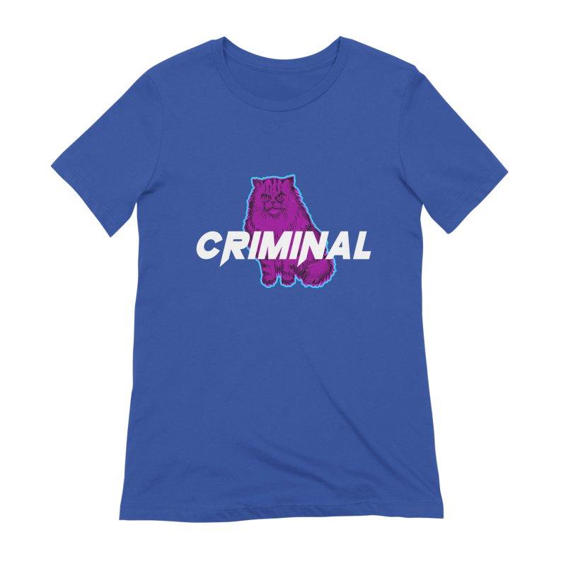 CRIMINAL (KITTY) Women's Extra Soft T-Shirt by VATTICA | OFFICIAL MERCH