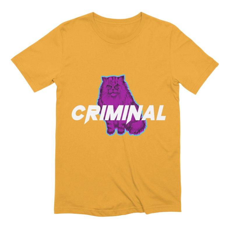 CRIMINAL (KITTY) Men's T-Shirt by VATTICA | OFFICIAL MERCH