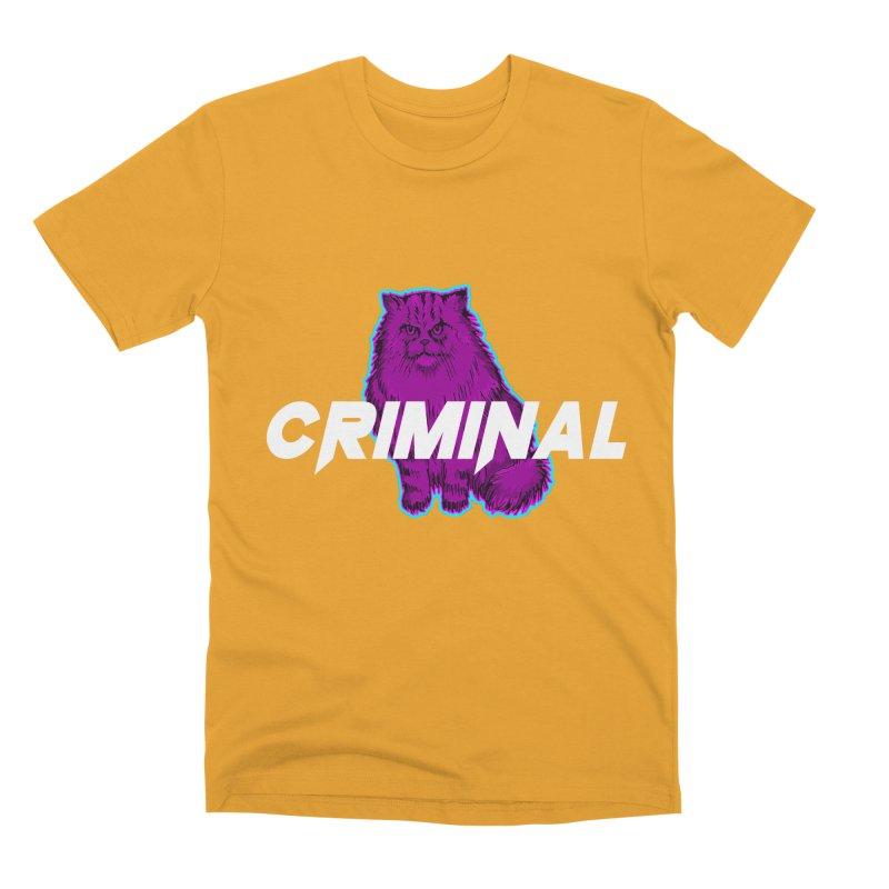 CRIMINAL (KITTY) Men's Premium T-Shirt by VATTICA | OFFICIAL MERCH