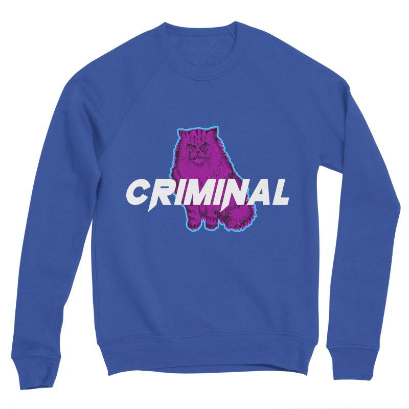 CRIMINAL (KITTY) Men's Sweatshirt by VATTICA | OFFICIAL MERCH