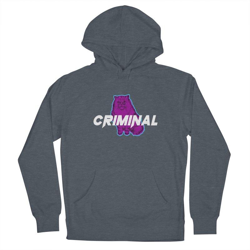 CRIMINAL (KITTY) Men's Pullover Hoody by VATTICA   OFFICIAL MERCH