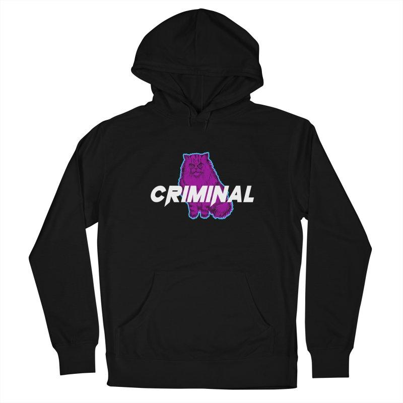 CRIMINAL (KITTY) Men's Pullover Hoody by VATTICA | OFFICIAL MERCH