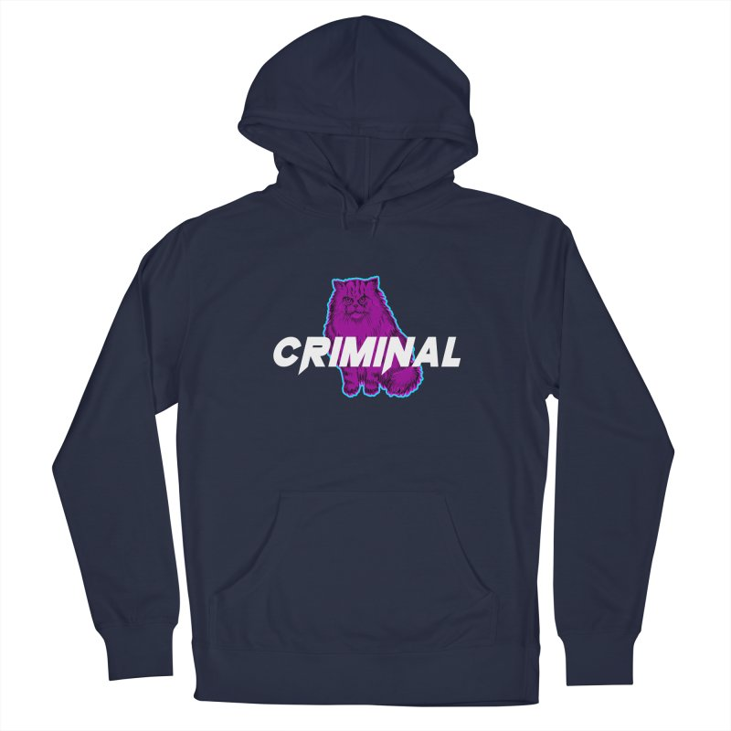 CRIMINAL (KITTY) Men's Pullover Hoody by VATTICA | OFFICIAL MERCH