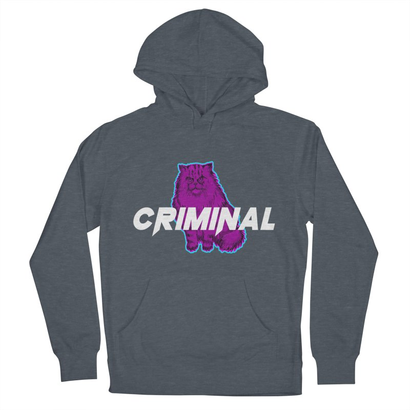 CRIMINAL (KITTY) Women's French Terry Pullover Hoody by VATTICA | OFFICIAL MERCH
