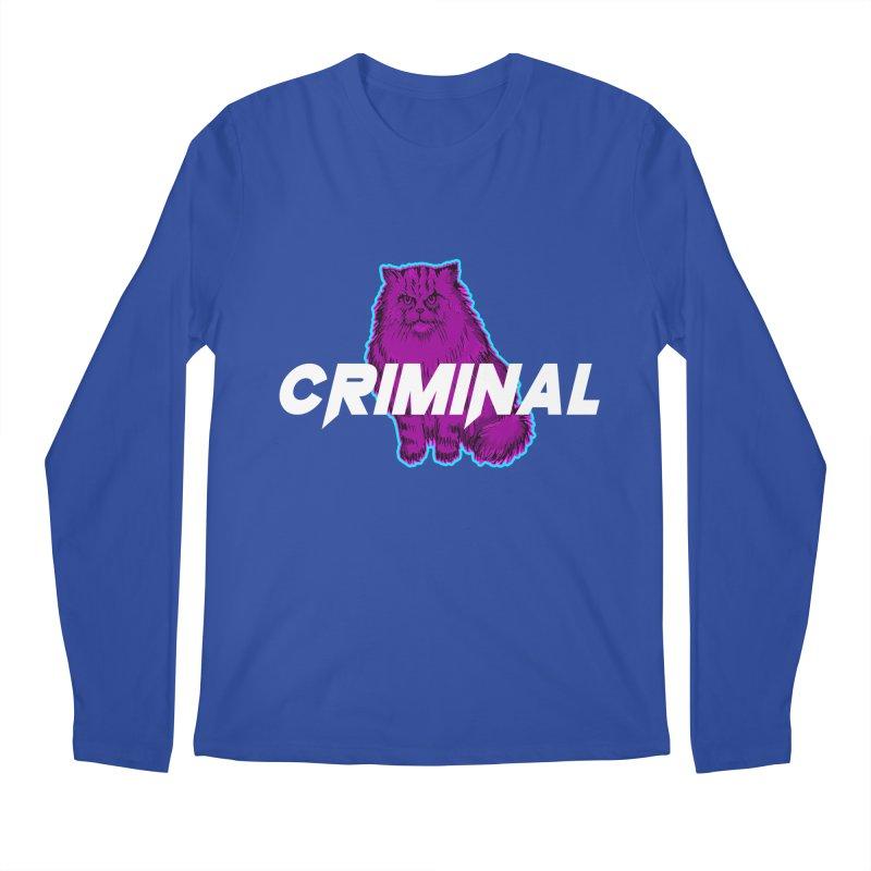 CRIMINAL (KITTY) Men's Regular Longsleeve T-Shirt by VATTICA | OFFICIAL MERCH