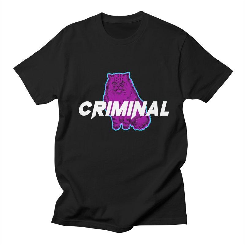 CRIMINAL (KITTY) Men's Regular T-Shirt by VATTICA | OFFICIAL MERCH