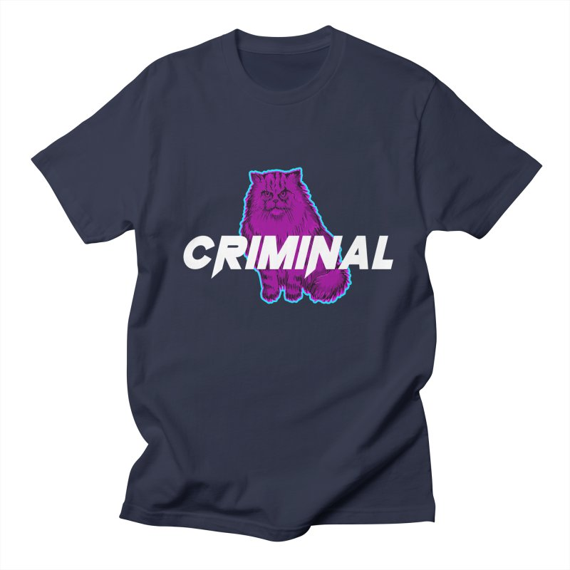 CRIMINAL (KITTY) Men's Regular T-Shirt by VATTICA | OFFICIAL MERCH